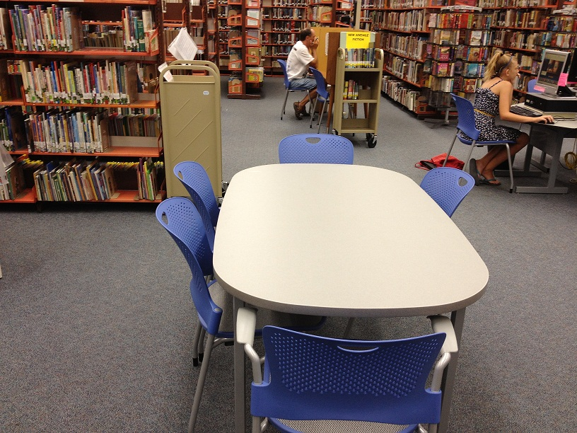 San Carlos Library Has New Chairs U0026 Tables